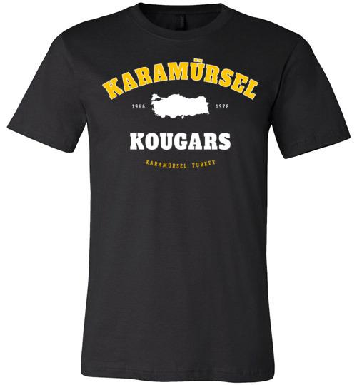 Karamursel Kougars - Men's/Unisex Lightweight Fitted T-Shirt