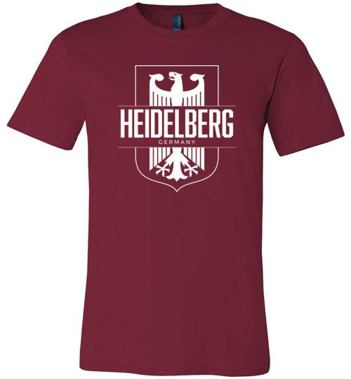Heidelberg, Germany - Men's/Unisex Lightweight Fitted T-Shirt-Wandering I Store