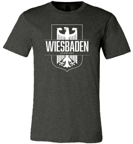Wiesbaden, Germany - Men's/Unisex Lightweight Fitted T-Shirt-Wandering I Store