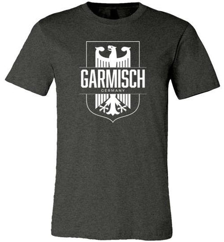 Garmisch, Germany - Men's/Unisex Lightweight Fitted T-Shirt-Wandering I Store