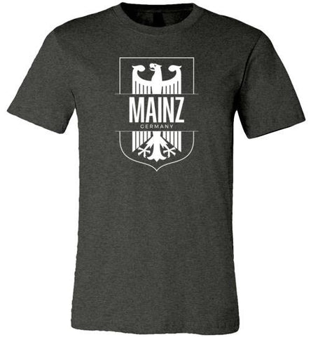 Mainz, Germany - Men's/Unisex Lightweight Fitted T-Shirt-Wandering I Store