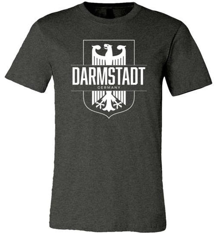 Darmstadt, Germany - Men's/Unisex Lightweight Fitted T-Shirt-Wandering I Store
