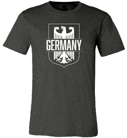 Germany - Men's/Unisex Lightweight Fitted T-Shirt-Wandering I Store