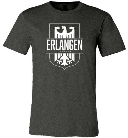 Erlangen, Germany - Men's/Unisex Lightweight Fitted T-Shirt-Wandering I Store