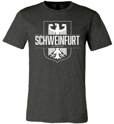 Schweinfurt, Germany - Men's/Unisex Lightweight Fitted T-Shirt-Wandering I Store