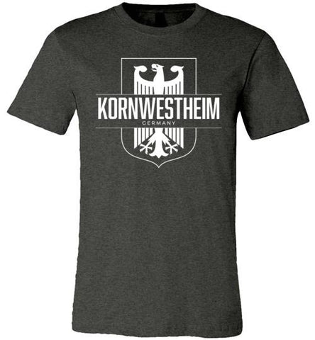 Kornwestheim, Germany - Men's/Unisex Lightweight Fitted T-Shirt-Wandering I Store