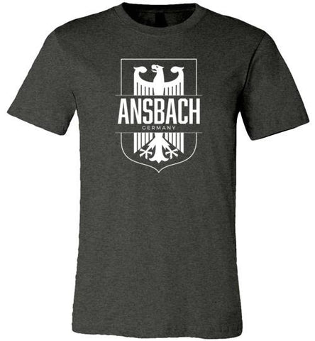 Ansbach, Germany - Men's/Unisex Lightweight Fitted T-Shirt-Wandering I Store