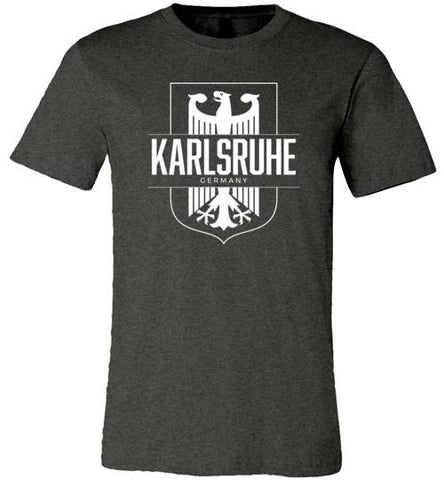 Karlsruhe, Germany - Men's/Unisex Lightweight Fitted T-Shirt