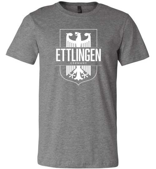 Ettlingen, Germany - Men's/Unisex Lightweight Fitted T-Shirt-Wandering I Store