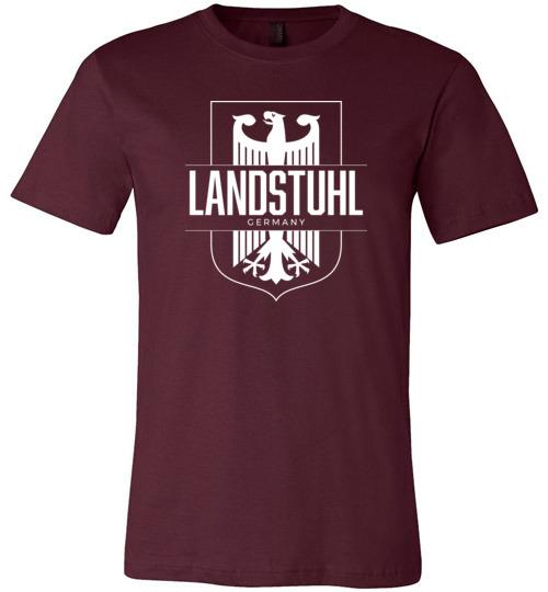 Landstuhl, Germany - Men's/Unisex Lightweight Fitted T-Shirt-Wandering I Store