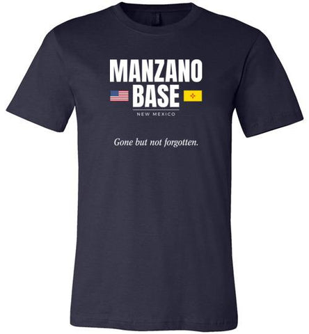 "Manzano Base ""GBNF"" - Men's/Unisex Lightweight Fitted T-Shirt-Wandering I Store"