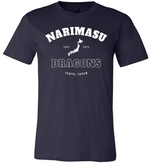 Narimasu Dragons - Men's/Unisex Lightweight Fitted T-Shirt-Wandering I Store