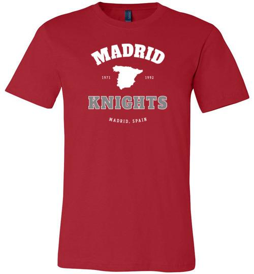 Madrid Knights - Men's/Unisex Lightweight Fitted T-Shirt