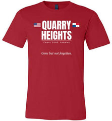 "Quarry Heights ""GBNF"" - Men's/Unisex Lightweight Fitted T-Shirt-Wandering I Store"