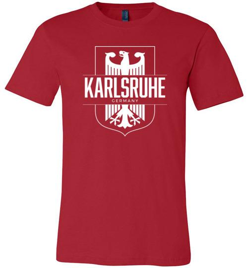 Karlsruhe, Germany - Men's/Unisex Lightweight Fitted T-Shirt-Wandering I Store