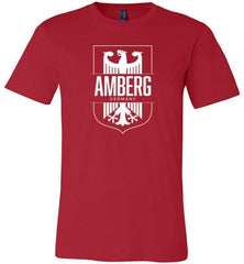 Amberg, Germany - Men's/Unisex Lightweight Fitted T-Shirt-Wandering I Store