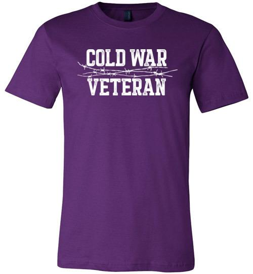 Cold War Veteran - Men's/Unisex Lightweight Fitted T-Shirt-Wandering I Store