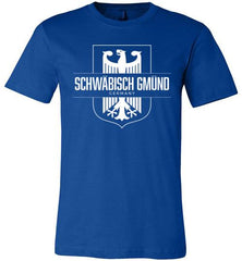 Schwabisch Gmund, Germany - Men's/Unisex Lightweight Fitted T-Shirt-Wandering I Store