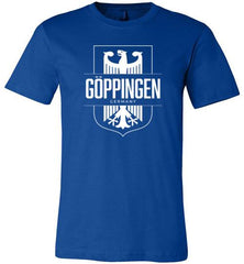 Goppingen, Germany - Men's/Unisex Lightweight Fitted T-Shirt-Wandering I Store