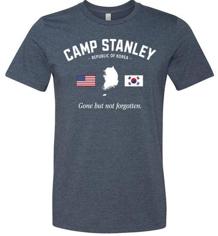 "Camp Stanley ""GBNF"" - Men's/Unisex Lightweight Fitted T-Shirt-Wandering I Store"