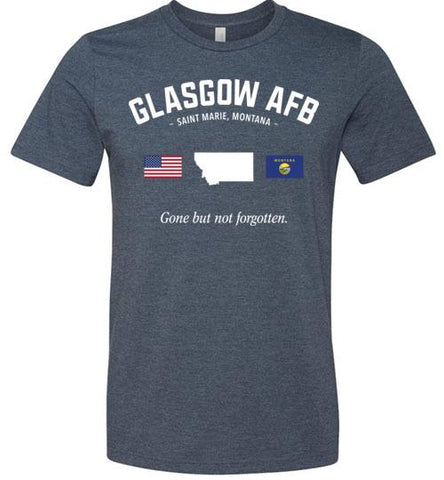 "Glasgow AFB ""GBNF"" - Men's/Unisex Lightweight Fitted T-Shirt-Wandering I Store"