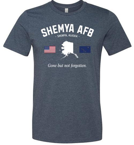 "Shemya AFB ""GBNF"" - Men's/Unisex Lightweight Fitted T-Shirt-Wandering I Store"