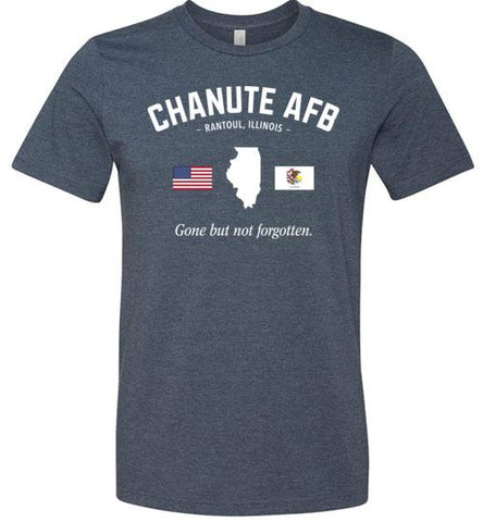 "Chanute AFB ""GBNF"" - Men's/Unisex Lightweight Fitted T-Shirt-Wandering I Store"