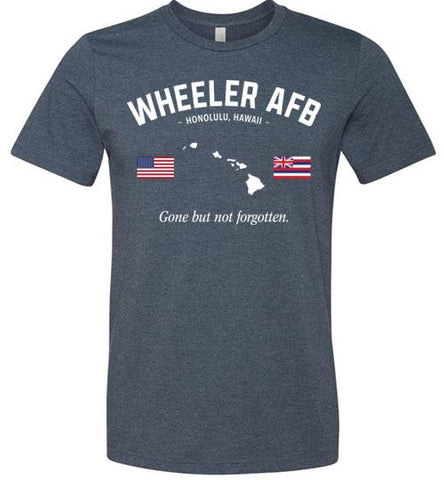 "Wheeler AFB ""GBNF"" - Men's/Unisex Lightweight Fitted T-Shirt-Wandering I Store"