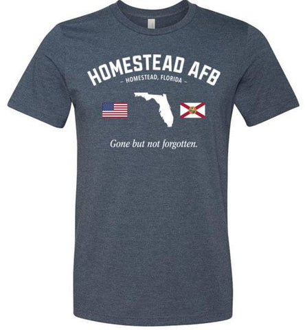 "Homestead AFB ""GBNF"" - Men's/Unisex Lightweight Fitted T-Shirt-Wandering I Store"