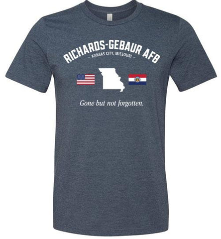 "Richards-Gebaur AFB ""GBNF"" - Men's/Unisex Lightweight Fitted T-Shirt-Wandering I Store"