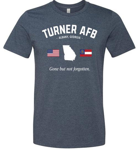 "Turner AFB ""GBNF"" - Men's/Unisex Lightweight Fitted T-Shirt-Wandering I Store"