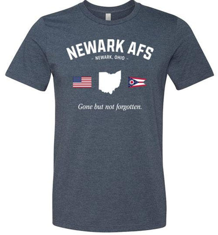 "Newark AFS ""GBNF"" - Men's/Unisex Lightweight Fitted T-Shirt-Wandering I Store"