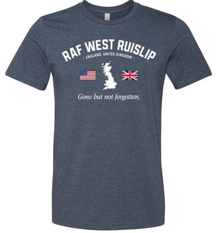 "RAF West Ruislip ""GBNF"" - Men's/Unisex Lightweight Fitted T-Shirt-Wandering I Store"