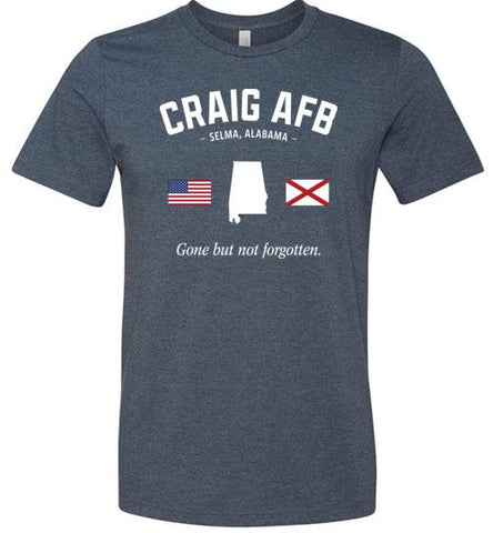 "Craig AFB ""GBNF"" - Men's/Unisex Lightweight Fitted T-Shirt-Wandering I Store"