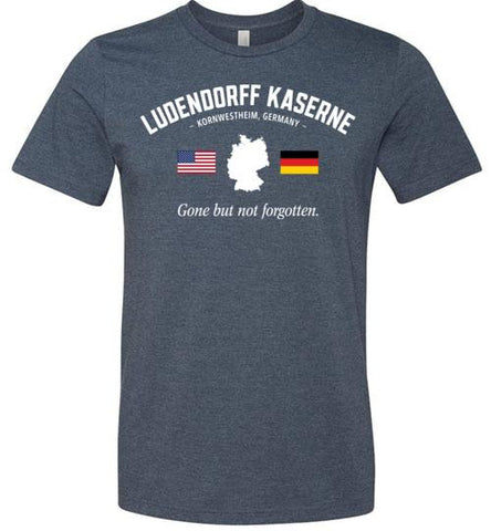 "Ludendorff Kaserne ""GBNF"" - Men's/Unisex Lightweight Fitted T-Shirt-Wandering I Store"