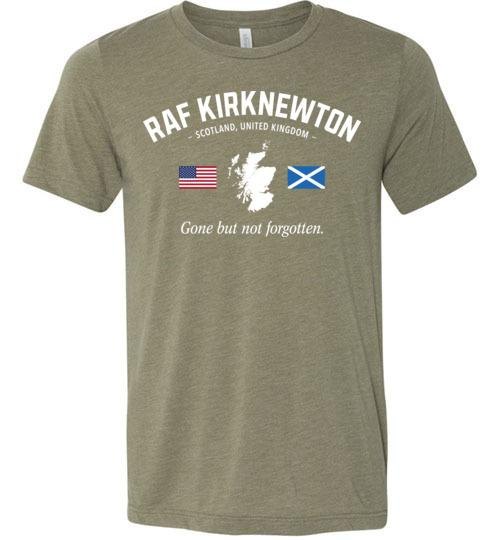 "RAF Kirknewton ""GBNF"" - Men's/Unisex Lightweight Fitted T-Shirt-Wandering I Store"