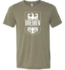 Bremen, Germany - Men's/Unisex Lightweight Fitted T-Shirt-Wandering I Store