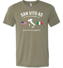 "San Vito AS ""GBNF"" - Men's/Unisex Lightweight Fitted T-Shirt-Wandering I Store"