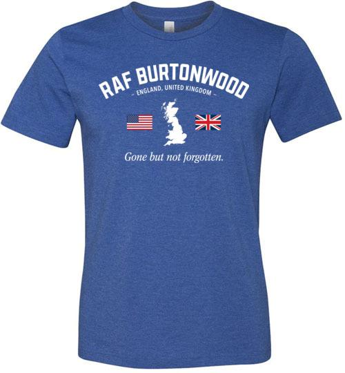 "RAF Burtonwood ""GBNF"" - Men's/Unisex Lightweight Fitted T-Shirt-Wandering I Store"