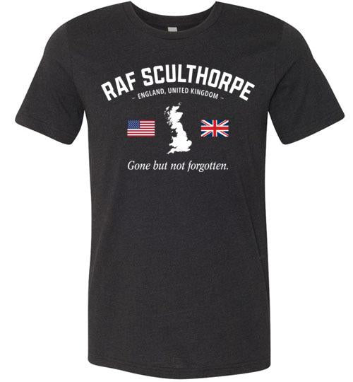 "RAF Sculthorpe ""GBNF"" - Men's/Unisex Lightweight Fitted T-Shirt-Wandering I Store"