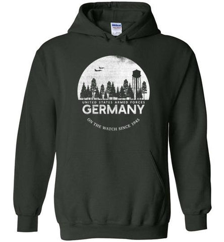 "U.S. Armed Forces Germany ""On The Watch Since 1945"" - Men's/Unisex Hoodie-Wandering I Store"