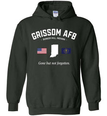 "Grissom AFB ""GBNF"" - Men's/Unisex Hoodie-Wandering I Store"