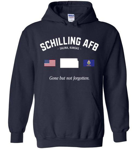 "Schilling AFB ""GBNF"" - Men's/Unisex Hoodie-Wandering I Store"