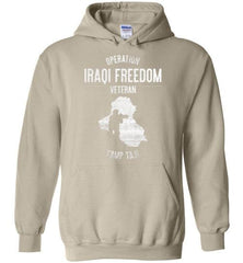 "Operation Iraqi Freedom ""Camp Taji"" - Men's/Unisex Hoodie-Wandering I Store"