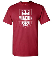 Munchen, Germany (Munich) - Men's/Unisex Standard Fit T-Shirt-Wandering I Store