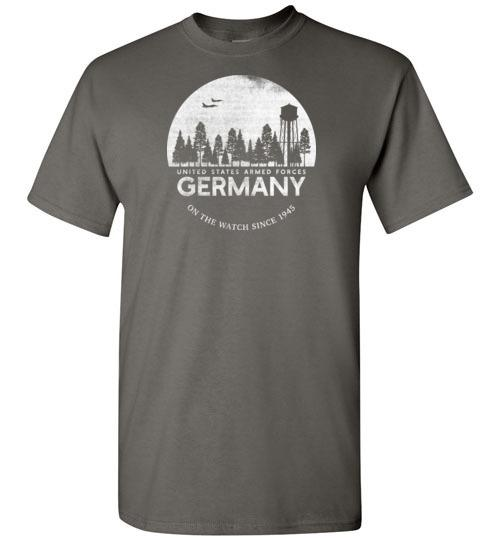 "U.S. Armed Forces Germany ""On The Watch Since 1945"" - Men's/Unisex Standard Fit T-Shirt-Wandering I Store"