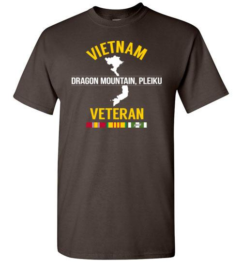 "Vietnam Veteran ""Dragon Mountain, Pleiku"" - Men's/Unisex Standard Fit T-Shirt-Wandering I Store"