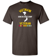 "Vietnam Veteran ""Song Be Base Camp"" - Men's/Unisex Standard Fit T-Shirt-Wandering I Store"