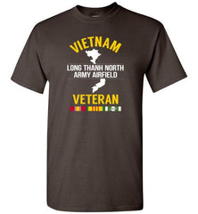 "Vietnam Veteran ""Long Thanh North Army Airfield"" - Men's/Unisex Standard Fit T-Shirt-Wandering I Store"