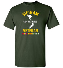 "Vietnam Veteran ""Cua Viet Base"" - Men's/Unisex Standard Fit T-Shirt"